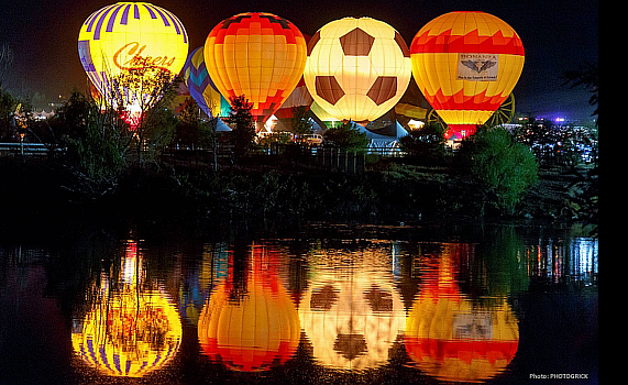 Hot Air Balloon Advertising - Corporate Brand Programs